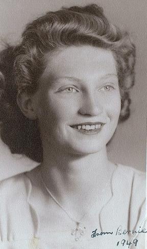 Bernie Jamieson aged around 21. She remains among my pantheon of major heroes.