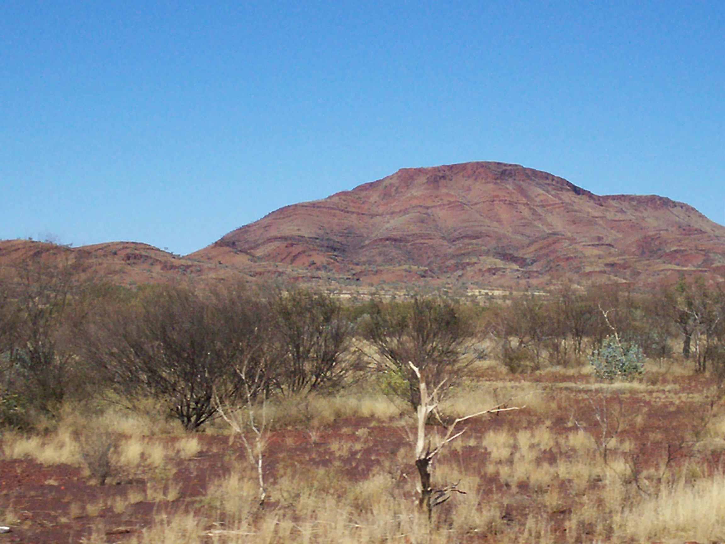 Beautiful Mulga Downs - part of the Pilbara landscape